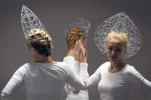 Валерия Абендрот в одном из своих проектов