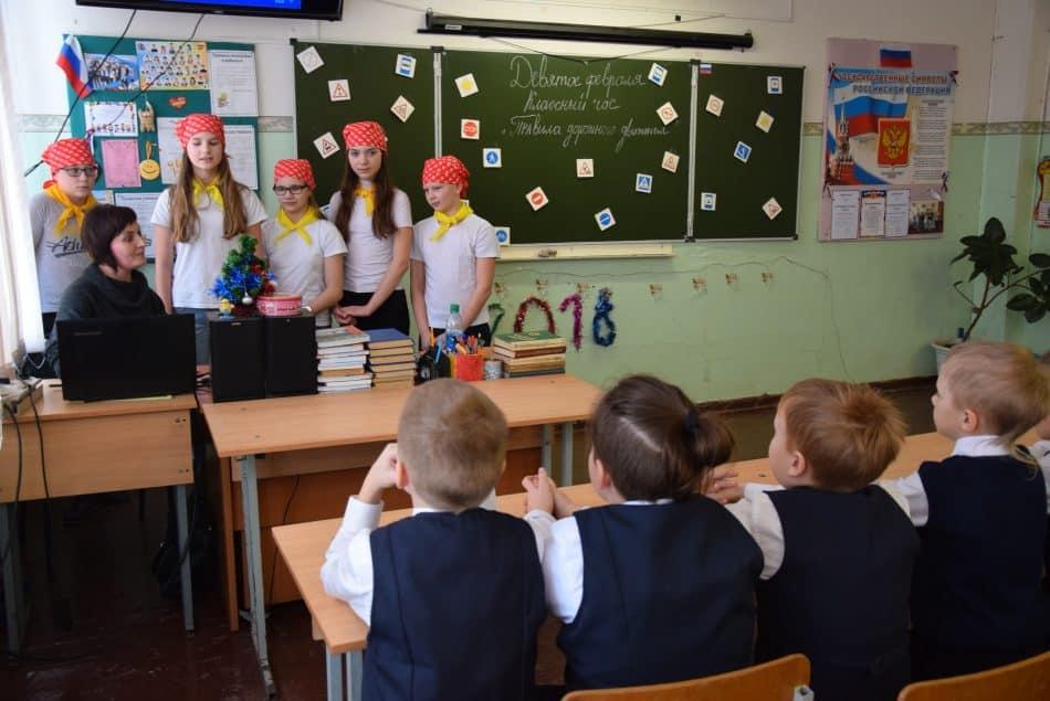 В Шуйской средней школе Прионежского района