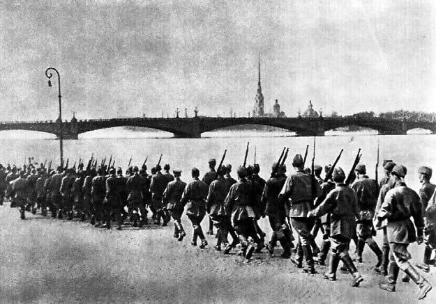 Мобилизация в Ленинграде летом 1941 года. Фото с сайта wikipedia.org