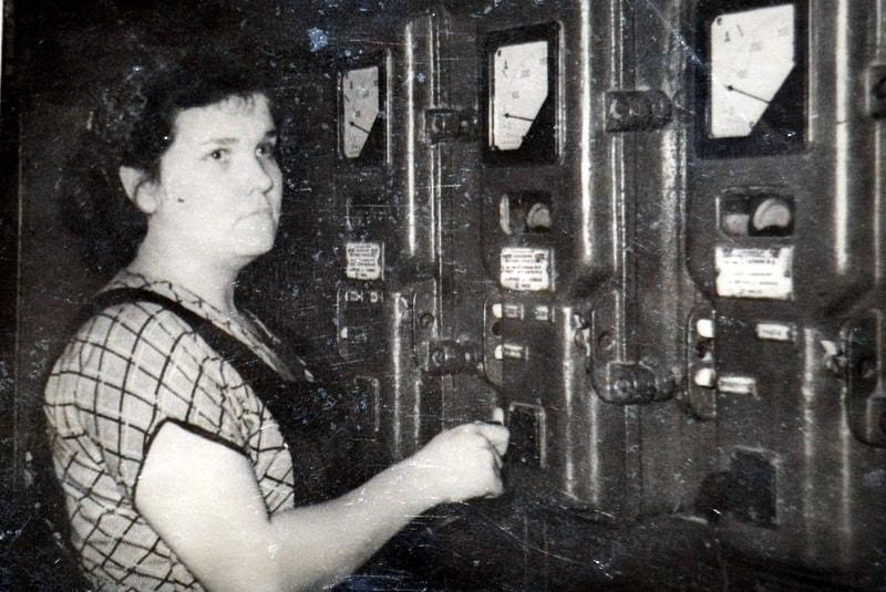 Паула во время работы на Сегежском ЦБК