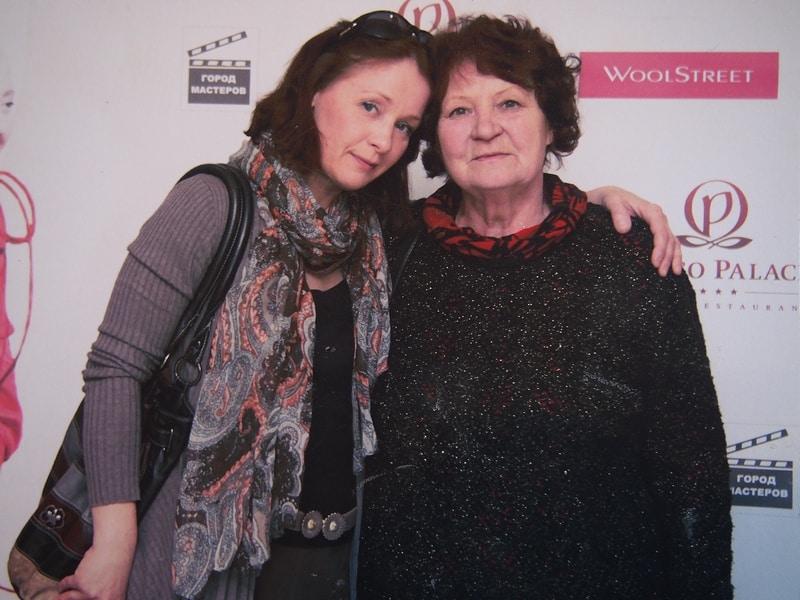 Ольга Саханова с мамой Ниной Владимировной