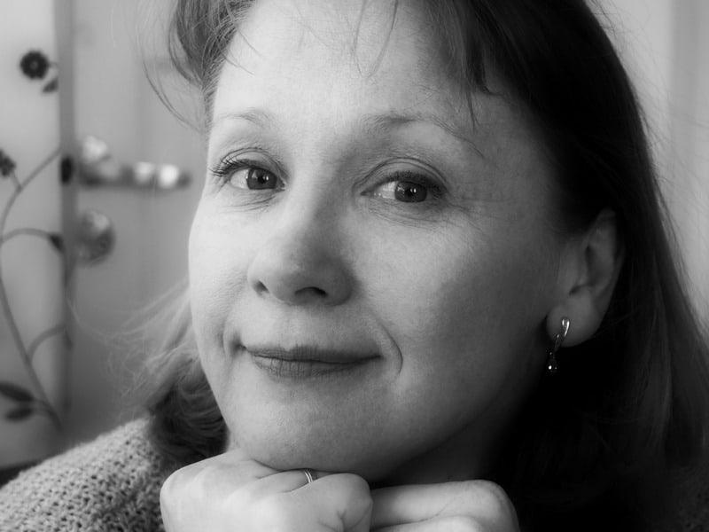 Актриса Ольга Саханова. Фото Ирины Ларионовой