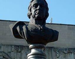 Такой памятник Карлу Гаскойну установлен в Луганске. Фото: ru.wikipedia.org