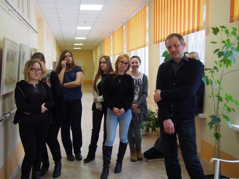Максим Кошелев и его студенты