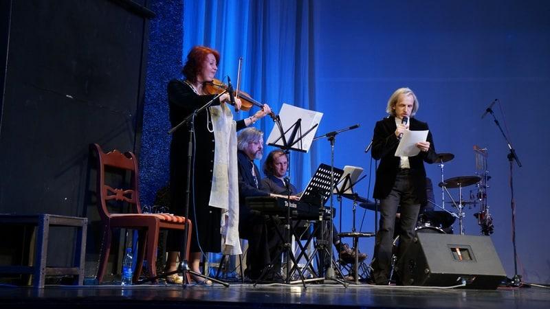 Творческий вечер Сергея Пронина. Фото Ирины Ларионовой