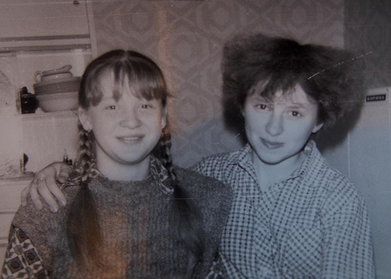 Ольга Саханова и Елена Хевсуришвили (справа)