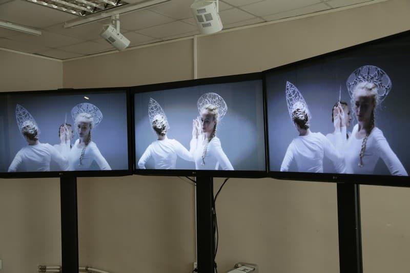 В Галерее промышленной истории открыта выставка «Мне нравится» немецкой художницы Валерии Абендрот. Фото: Ирина Ларионова