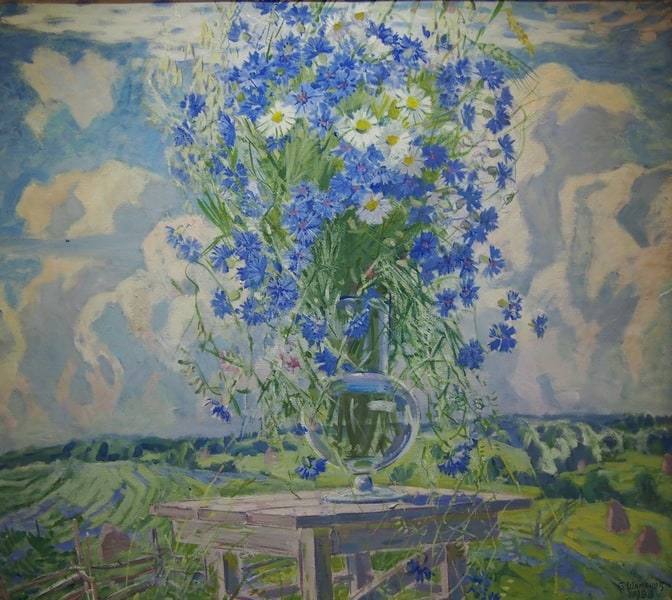 Борис Шабанов. Цветы и облака