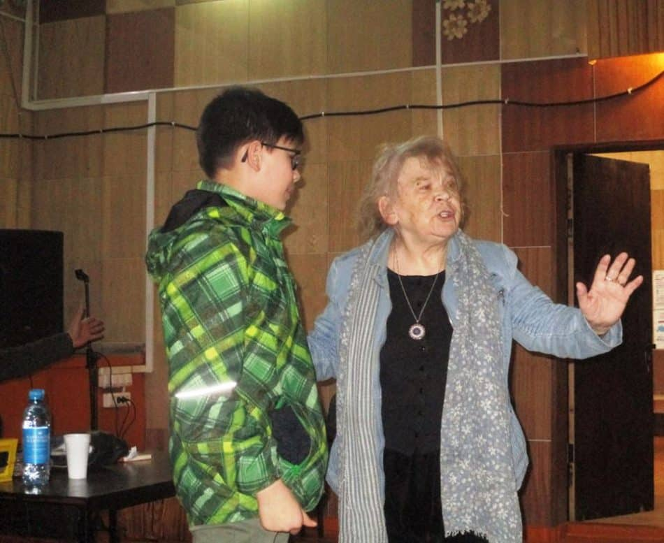 Мариэтта Чудакова в в Шуйском Доме культуры. Фото Марины Героевой