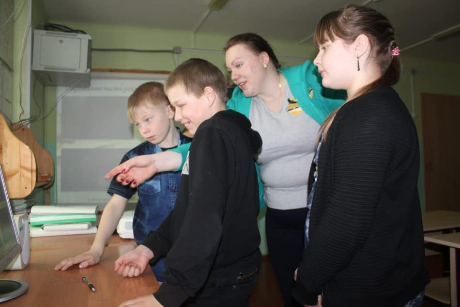 В школе деревни Куганаволок состоялась ежегодная программа в рамках модельного проекта «Школа в Национальном парке»