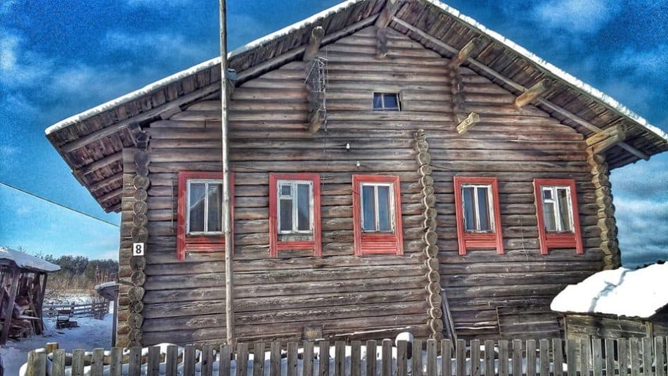 Дом творчества писателей в деревне Корза