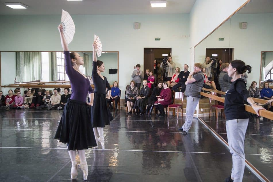 Илзе Лиепа в Музыкальном театре Карелии. Фото Виталия Голубева