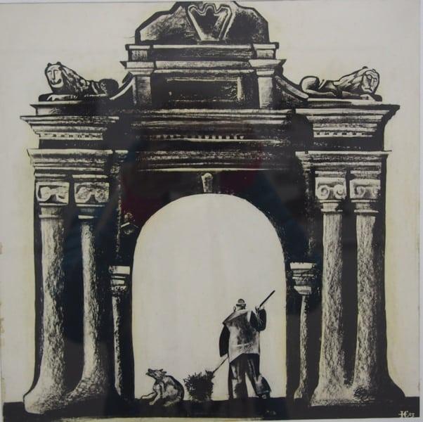 С. Кобышева. Триумфальная арка