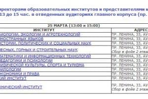 ПетрГУ проведёт 25 марта День открытых дверей