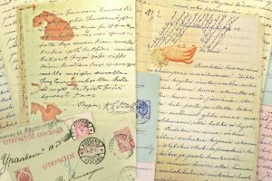 Письма Анны Еремеевой-Ряйхя Василию (из Вокнаволока в  Уральск и Темир). Национальный архив Финляндии
