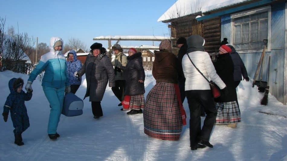 В деревне Рубчойла