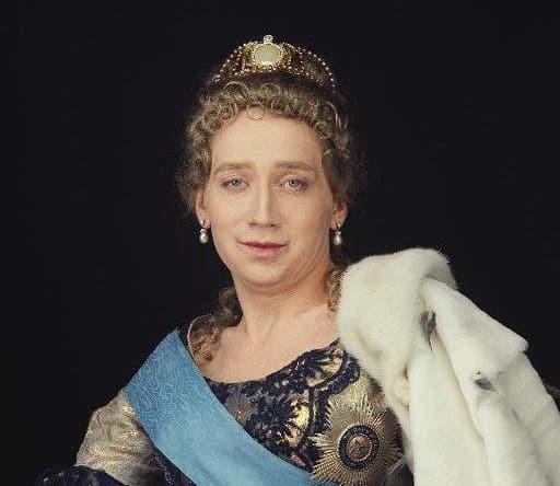 В образе Екатерины II
