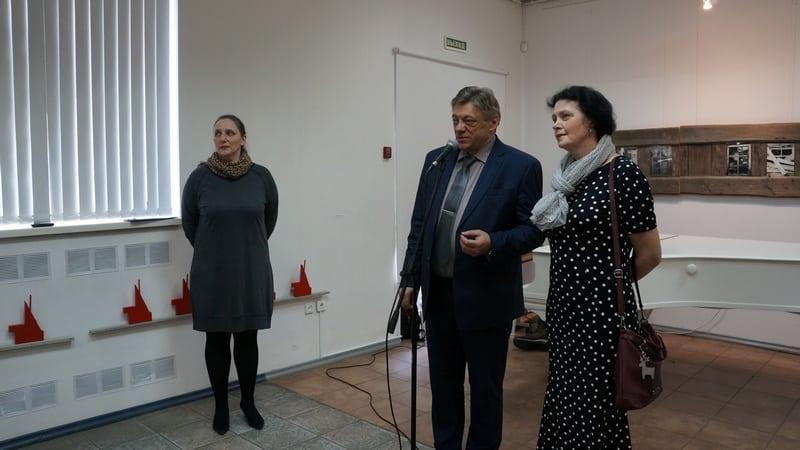 Начальник управления культуры администрации Петрозаводска Сергей Соловьев признался, что не ожидал получить столько эмоций от выставки