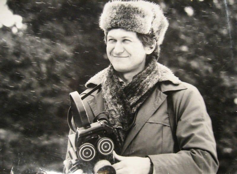 Виктор Яроцкий на съемке