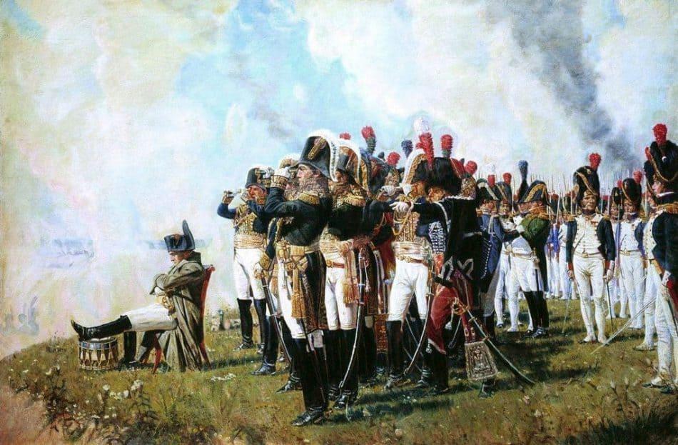 «Наполеон на Бородинских высотах» В.Верещагин