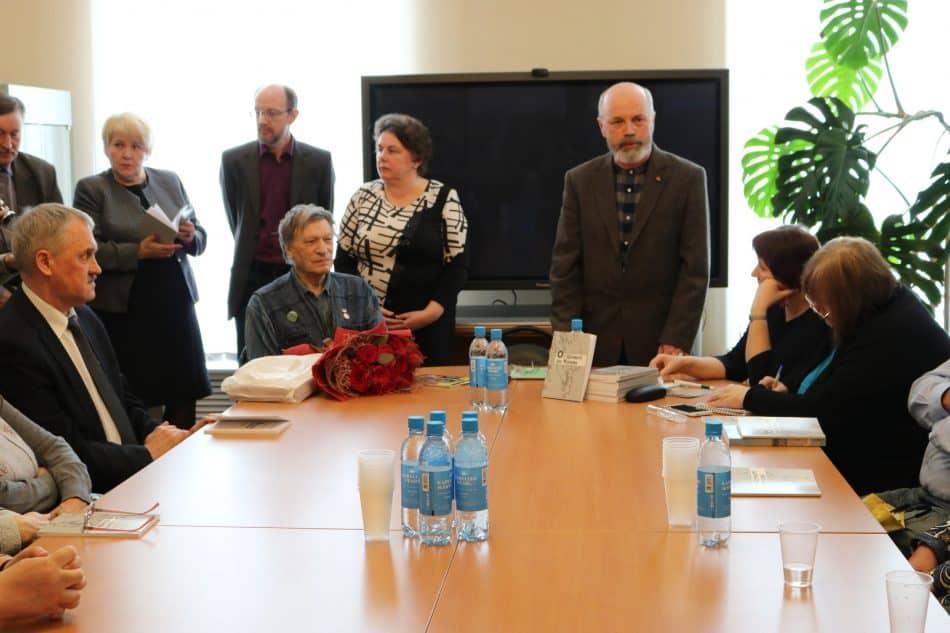 На презентации книги Вячеслава Агапитова. Фото Елены Малишевской