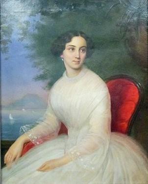 неизвестный художник. Портрет молодой женщины. Первая половина XIX века