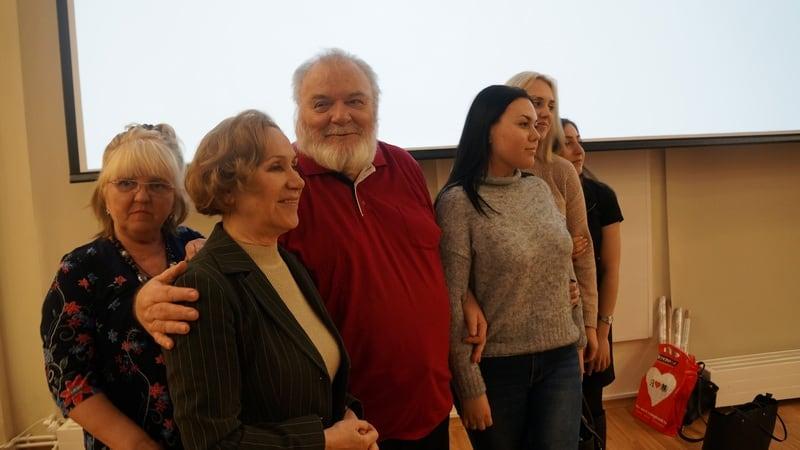 Фото на память с Юрием Владимировичем Линником