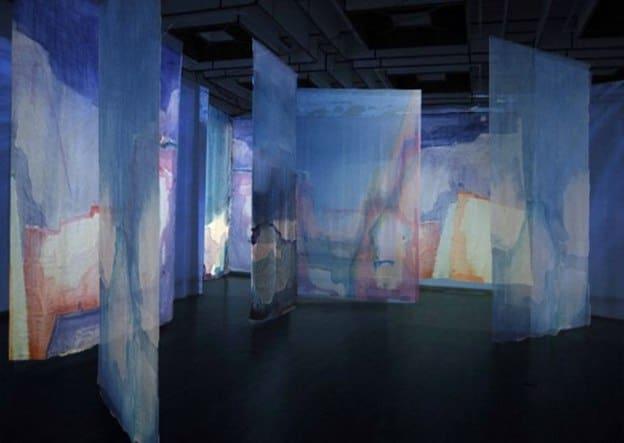 Инсталляция Silkorama Татьяны Бандович в Петрозаводске