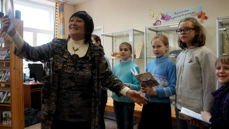 Вера Линькова и ее студийцы