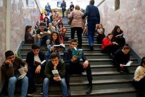 Почти четверть читающих россиян   ходят в библиотеки. Фото Ирины Ларионовой