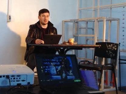 Дмитрий Глуховский в петрозаводском Agriculture club в апреле 2017 года. Фото Натальи Мешковой