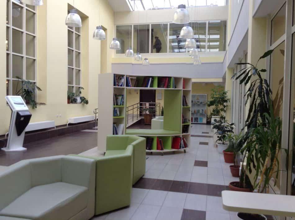 Здесь тоже разместится детская библиотека