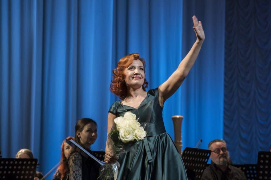 Надежда Павлова в Музыкальном театре Карелии. Фото МТ РК
