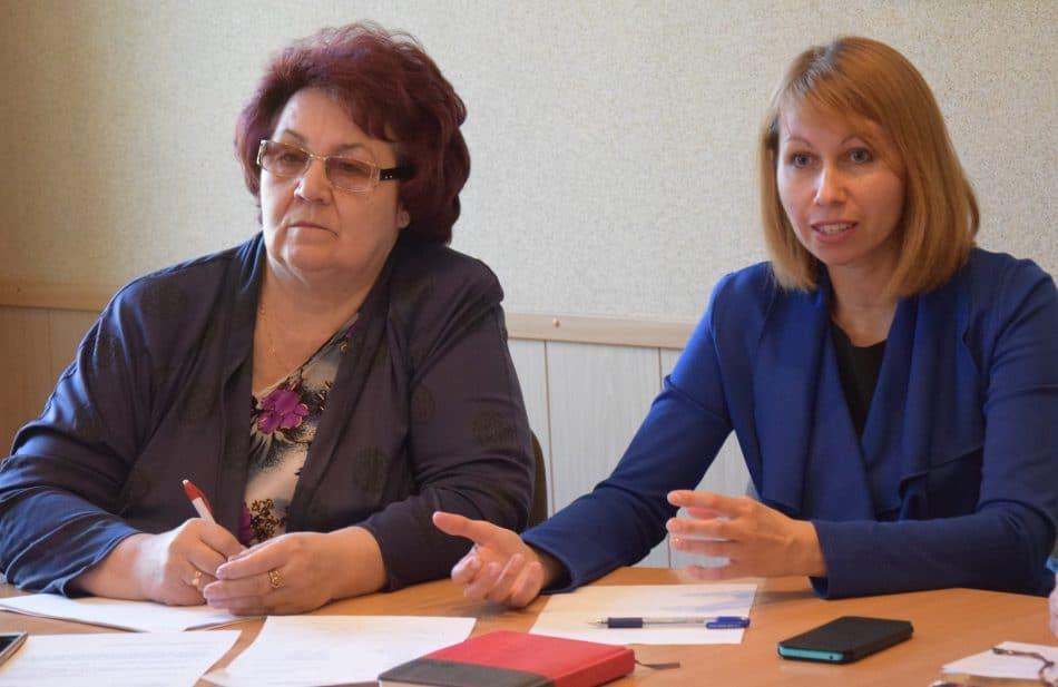 Галина Васильева (слева) и Елена Пальцева