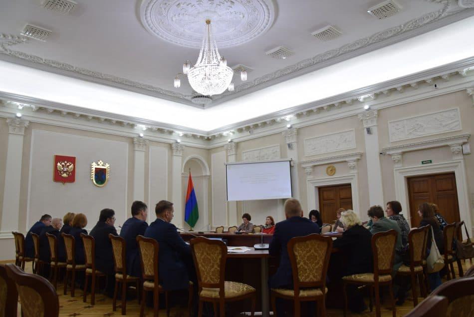 Заседание Совета по делам инвалидов при главе республики
