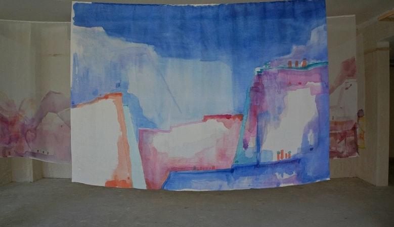 Выставка Татьяны Бандович «Silkorama»