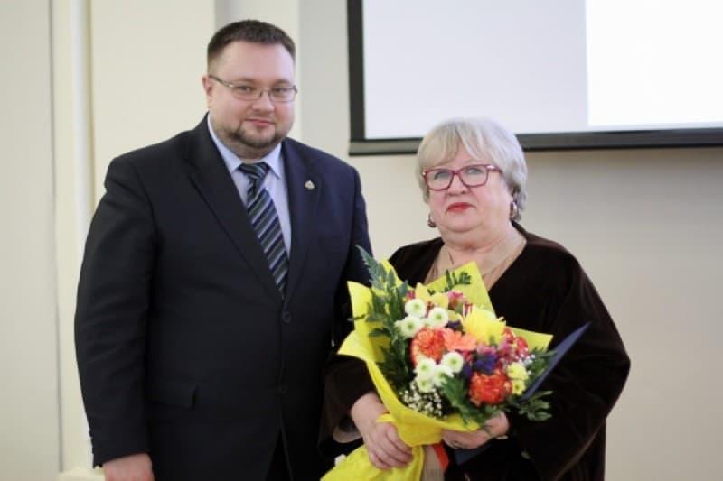 Лилия Степанова и Алексей Лесонен. Фото: mincultrk.ru
