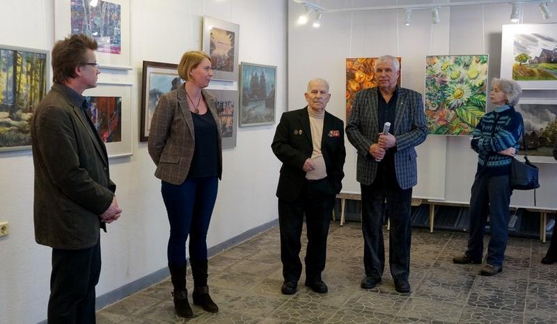 Владимир Зорин, Мария Бабаева,Александр Каштанов, Георгий Иванов