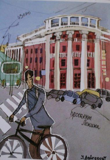 """Юлия Андреева. Выставка """"Гулять"""""""