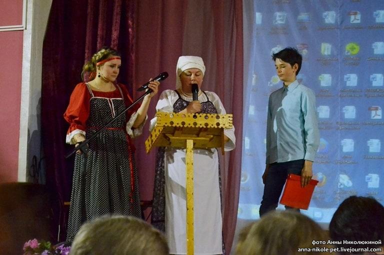 Ж. Соколова, директор клуба, В. Сукотова и Дмитрий Куванин
