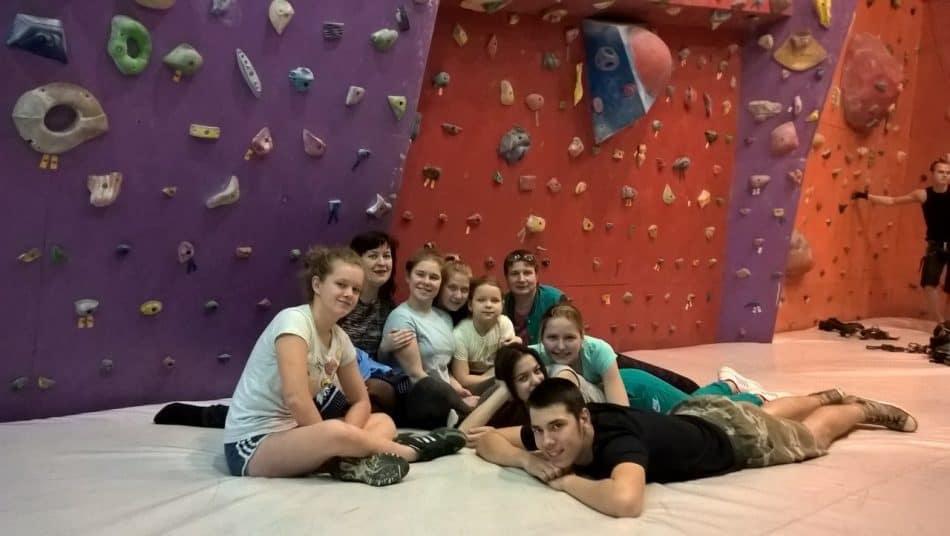 Людмила Гусева с учениками