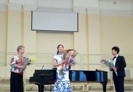 Пэн Иньлай, Ирина Смирнова и Лу Синь