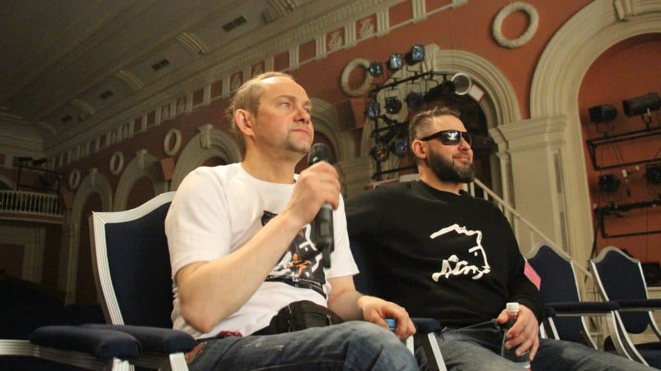 Вячеслав Поляков и Егор Кукушкин. Фото Натальи Жемгулене