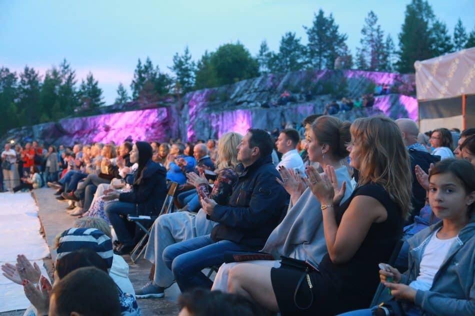 На фестивале Ruskeala Symphony в 2017 году. Фото Владимира Ларионова