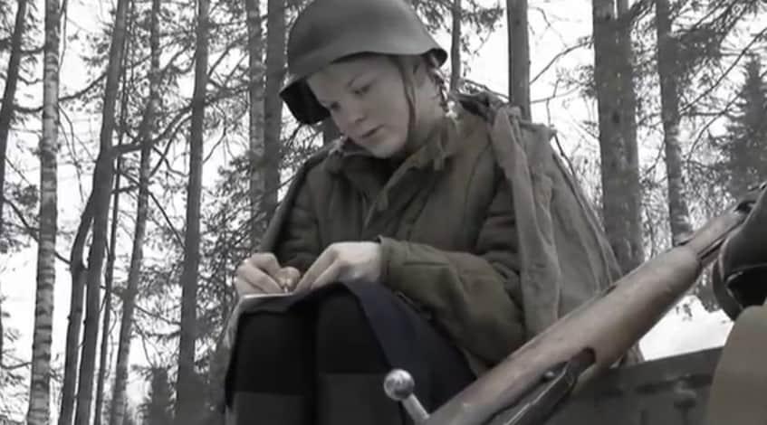 """Кадр из фильма """"Сильнее смерти"""""""