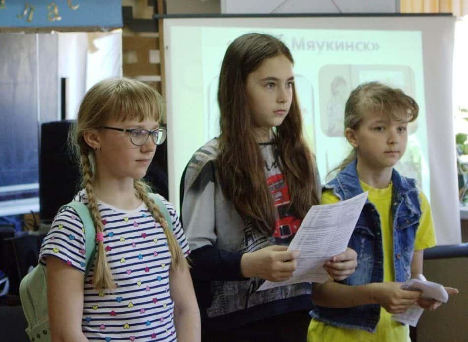 Дети читают стихи Андрея Сунгурова
