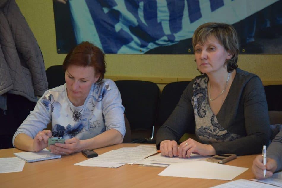 Татьяна Васильева и юрист Светлана Соловьева (справа). Фото Марии Голубевой
