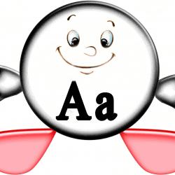 А - буква гласного