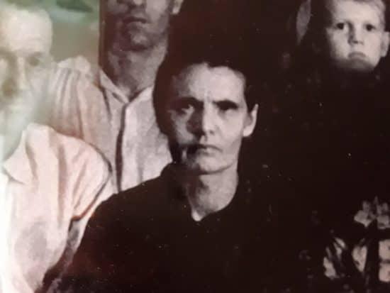 Мария Алексеева в кругу семьи в 60-е годы. Спасская Губа