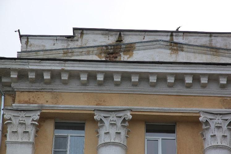 Фрагменты зданий сталинского периода